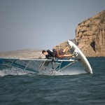 Windsurfing is a world renowned sport in Kouremenos Bay, within Sitia Natural Park